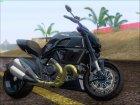 Ducati Diavel 2012 для GTA San Andreas вид изнутри