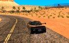 Mitsubishi Eclipse DriftStyle для GTA San Andreas вид сзади слева