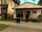 Новые чёрные грувцы! для GTA San Andreas вид сзади слева