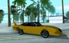Plymouth Roadrunner Superbird V10 TT для GTA San Andreas