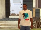 CROW T-Shirt for GTA San Andreas left view