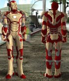 [Normal Map] Mark 42 (Iron Man) for GTA San Andreas inside view