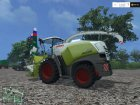CLAAS Jaguar 870 v2.0 for Farming Simulator 2015 rear-left view