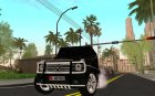 Mersedes-Benz G65 AMG для GTA San Andreas вид сзади