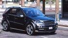 Mercedes-Benz ML Brabus 2009 «Monoblock Q» for GTA 5 inside view