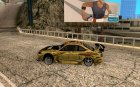 Nissan Silvia S15 Top Secret для GTA San Andreas вид слева
