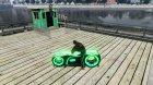 Мотоцикл из Трон (зеленый неон) for GTA 4 left view