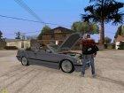 Открыть багажник или капот руками для GTA San Andreas вид сзади слева