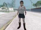 Heather из Silent Hill for GTA San Andreas side view