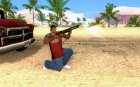 Chromegun New для GTA San Andreas вид сзади слева