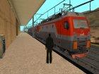 Пак Русских поездов for GTA San Andreas top view