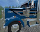 Kenworth W900L for Farming Simulator 2015 side view