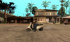 Honda Dio AF-34 for GTA San Andreas rear-left view