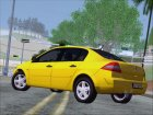 Renault Megane Sedan for GTA San Andreas rear-left view