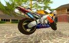 Honda Repsol Rossi for GTA San Andreas left view