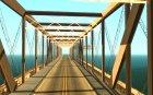 Внедорожная Трасса V 2.0 для GTA San Andreas вид изнутри