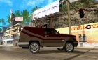 Sandking EX V8 Turbo для GTA San Andreas вид изнутри