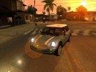 Женские автомобили для GTA San Andreas вид изнутри