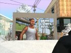 Дверь гаража текстура GTA V Франклин for GTA San Andreas left view