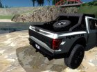 Ford F-150 Raptor Project Scorpio 2017 for GTA San Andreas rear-left view