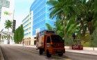 Hafei Camion de Gas for GTA San Andreas top view