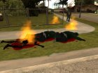 Обгоревшие тела (Burning) for GTA San Andreas left view