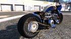 Honda CB750 Bagger 1.0 for GTA 5 left view