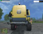 New Holland TC590 for Farming Simulator 2015 rear-left view