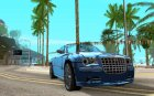 Chrysler 300C Roadster BETA для GTA San Andreas вид изнутри