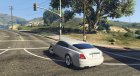 Rolls-Royce Wraith 2015 для GTA 5 вид сзади слева