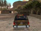 RCSD Red County Sheriff Department Jeep Cherokee 1992 for GTA San Andreas rear-left view