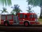Seagrave Marauder II SFFD Engine 28 for GTA San Andreas right view