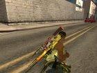 Пак оружия с расцветкой for GTA San Andreas side view