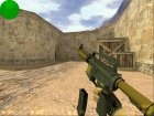 M4A1-S Knight из CS:GO для Counter-Strike 1.6 вид сзади