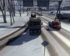 Winter mod for Euro Truck Simulator 2 rear-left view