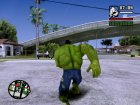 Hulk Classic for GTA San Andreas side view