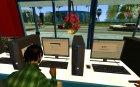 Ganton Cyber Cafe Mod v1.0 для GTA San Andreas вид сзади слева