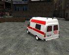 ГАЗель Скорая Помощь для GTA 4 вид слева