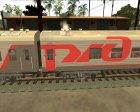 Плацкартный вагон РЖД for GTA San Andreas rear-left view