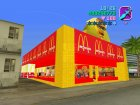Mcaonalds for GTA Vice City left view