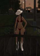 CowGirl for GTA San Andreas top view