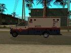 MRSA Ambulance из GTA V for GTA San Andreas top view