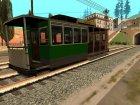 Пак реальных поездов V.1 от VONE для GTA San Andreas вид сзади слева