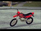 Honda XR 250R for GTA San Andreas rear-left view