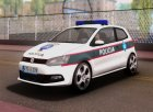 Volkswagen Polo GTI BIH Police Car for GTA San Andreas left view