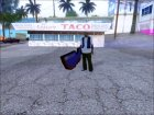 Мультяшный меч для GTA San Andreas вид сзади слева