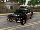 ВАЗ-2106 Police Los Santos for GTA San Andreas left view