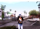"T-shirt ""Iron Man"" для GTA San Andreas вид сзади слева"