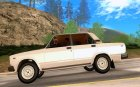 Lada 2107 light tunning для GTA San Andreas вид слева