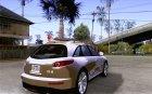 Infiniti FX45 2007 для GTA San Andreas вид сверху